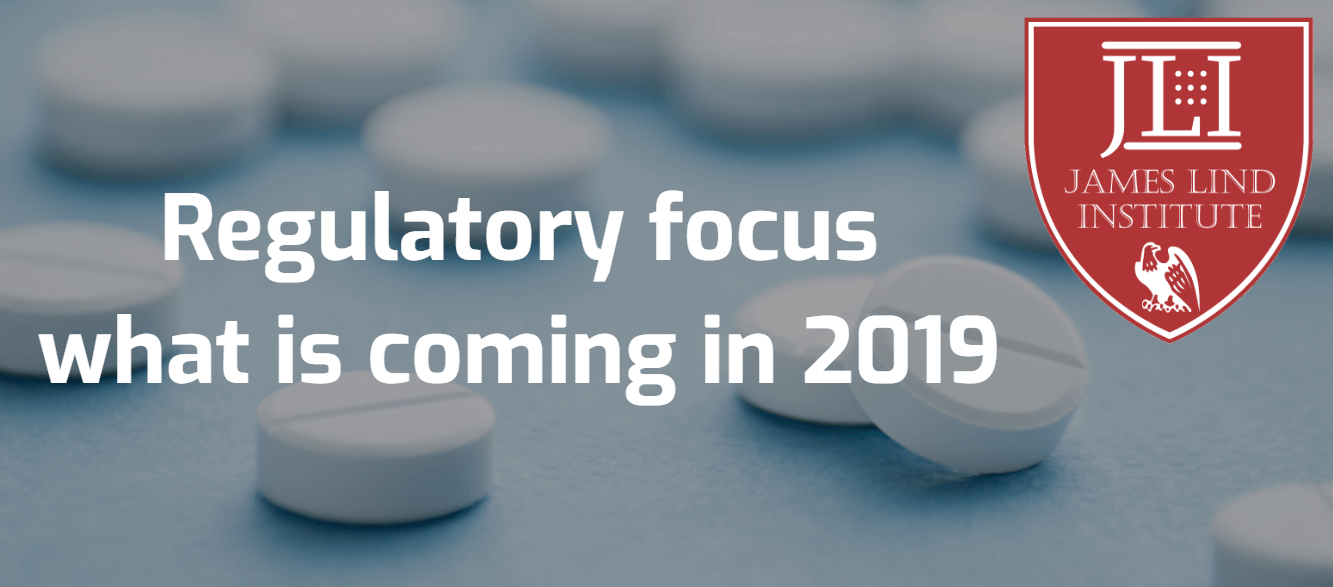 Regulatory focus what is coming in 2019