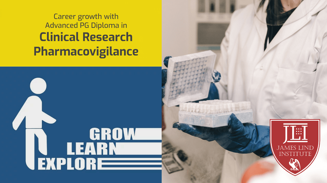 Career with Clinical research and Pharmacovigilance