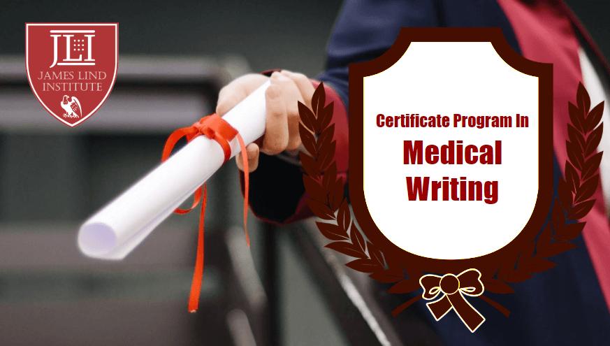 Certificate Medical writing